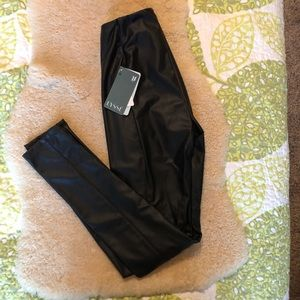 NWT Lysse Vegan Leather High Waisted Leggings